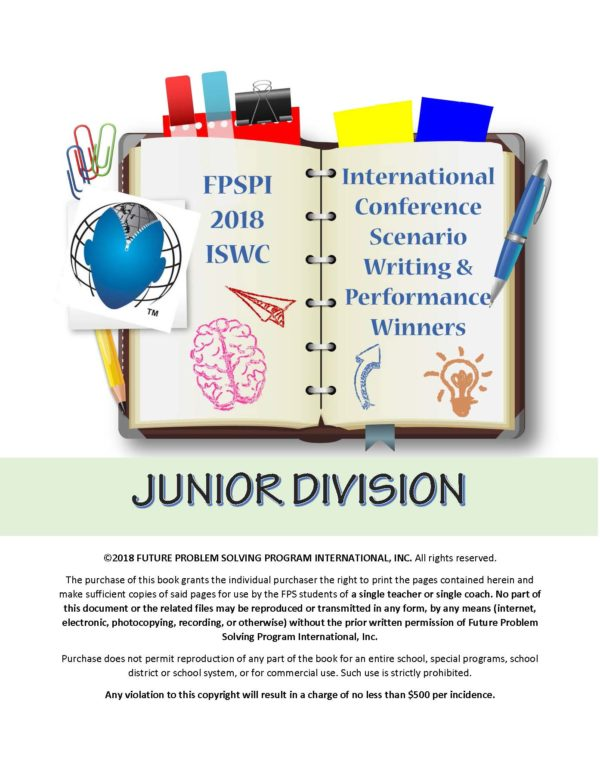 2018 Champs – Junior Division Writing and Performance