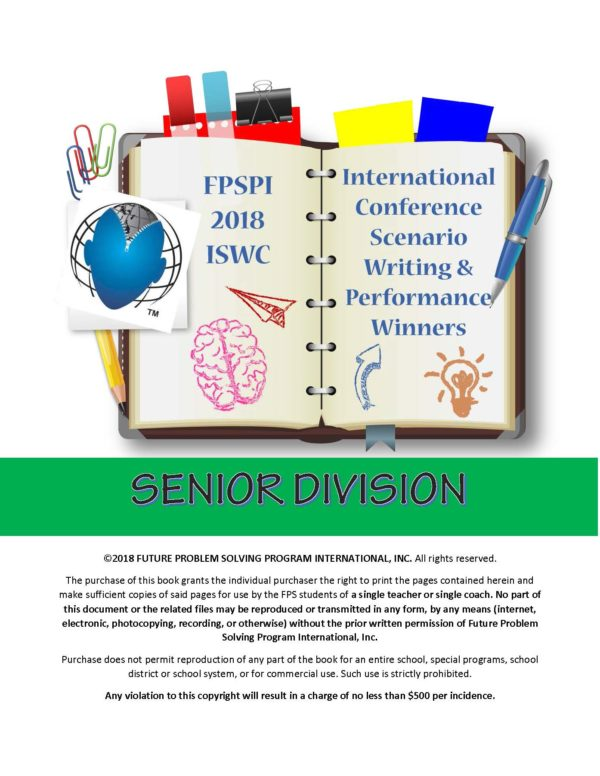 2018 Champs – Senior Division Writing and Performance