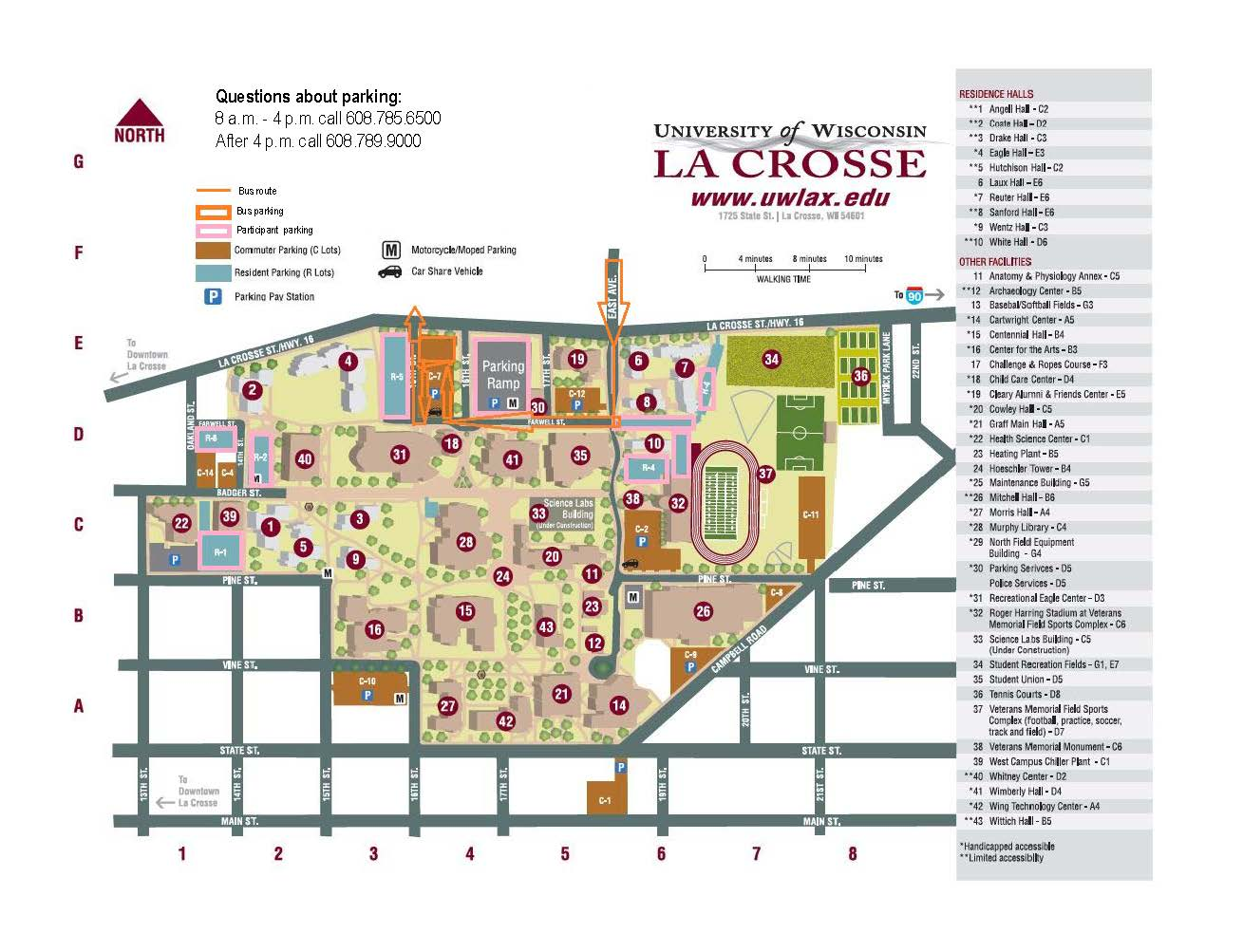 IC Parking Map